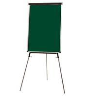 Флипчарт магнитный для мела на треноге Standard с дополнительными планками 70х100см, фото 1