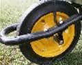 Тачка BudMonster строительная 1-колесная окраш.кузов 80 л, 200 кг, колесо пневмо 4*8