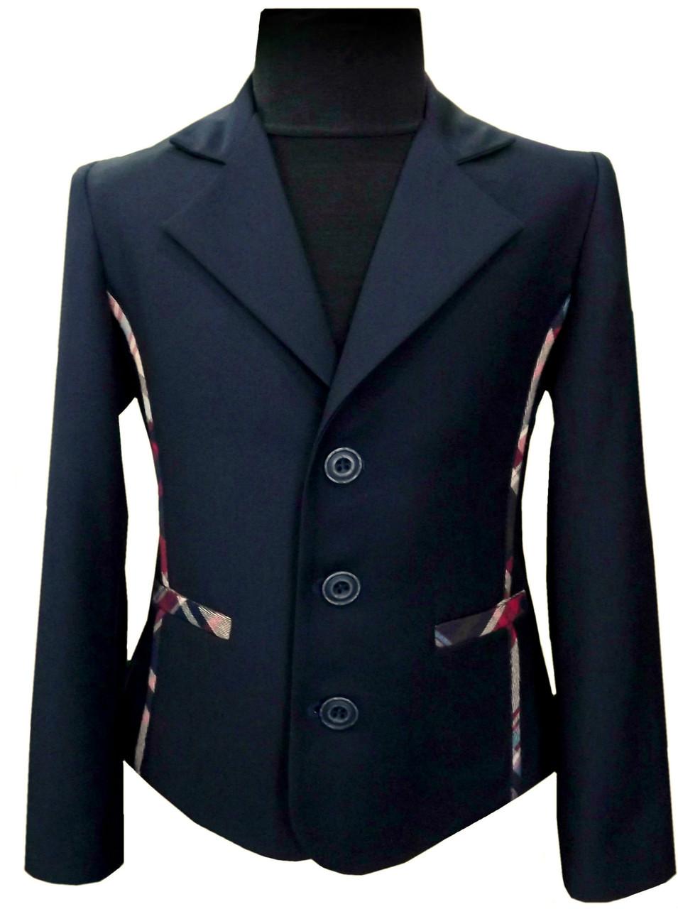Пиджак школьный детский № 244/1 - KF 09C +D 31