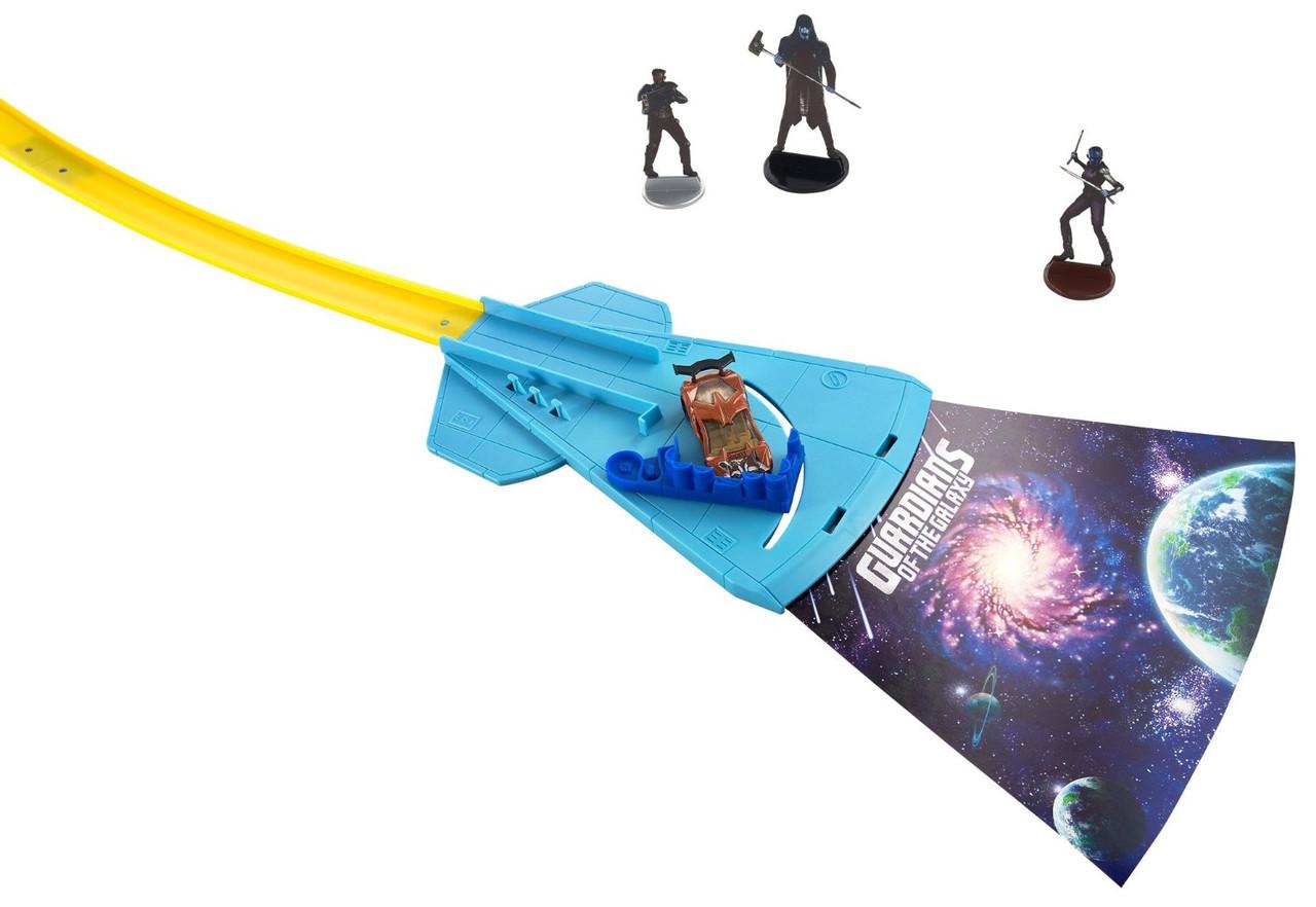 Hot Wheels Marvel Трек Стражи Галактики (Guardians of the Galaxy Rocke