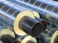 Трубы предизолированные 530/710 в СПИРО оцинкованной оболочке
