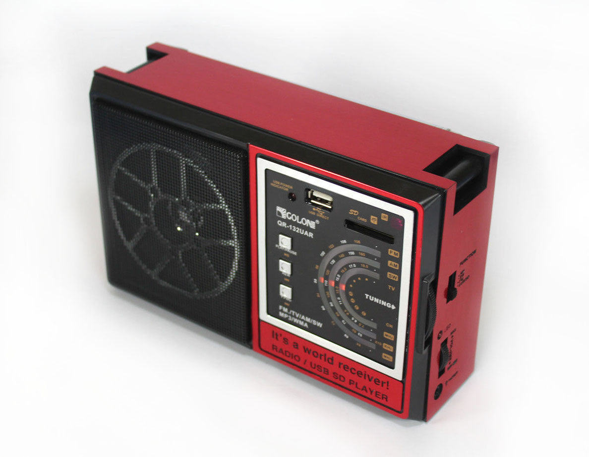 Портативный радио приемник Golon RX 132 UAR ZF