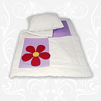 """Комплект """"Аппликация"""" (одеяло+подушка) 110х140"""
