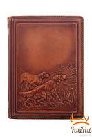 Кожаный ежедневник ручной работы Охота