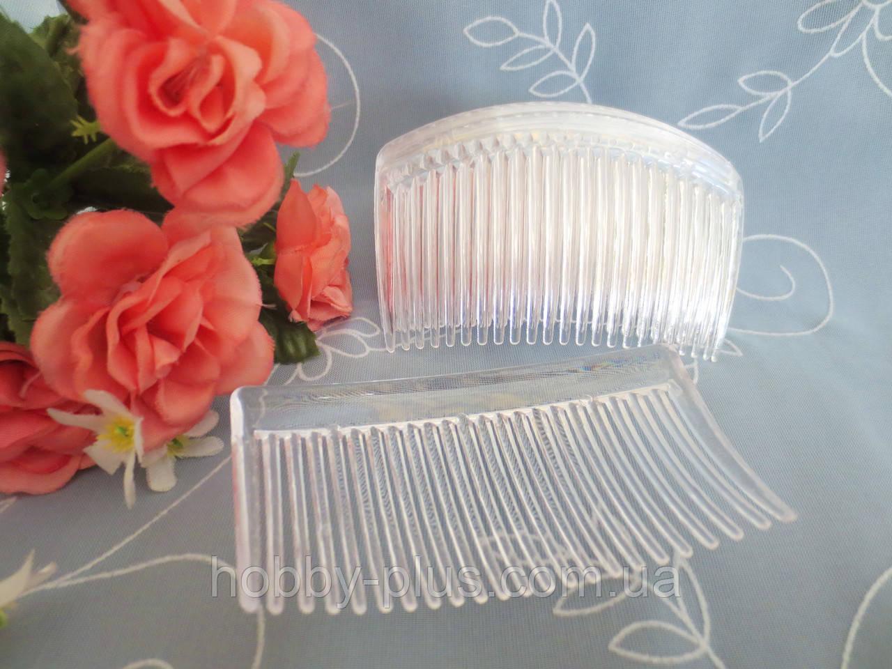 Гребешок-основа пластиковый, 8,5 см, прозрачный