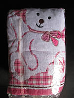 Полотенца с мишками для детей.