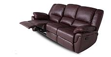 """Кожаный диван """"ALABAMA"""" с реклайнером (199см), фото 3"""