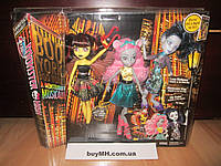 Набор Луна Мотьюс, Эль Иди, Мауседес Кинг Бу Йорк Monster High Boo York Luna Mothews,Elle Eedee Mouscedes King