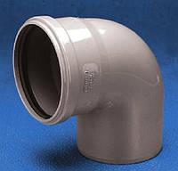 Отвод внутренней канализации Ø40, 87°