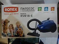 Пылесос с мешком 1800 Вт (ROTEX RVB 18-E)