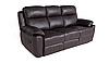 """Трехместный диван в коже с реклайнером """"ALABAMA BIS"""" (198см), фото 3"""