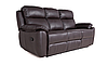 """Трехместный диван в коже с реклайнером """"ALABAMA BIS"""" (198см), фото 4"""