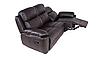 """Трехместный диван в коже с реклайнером """"ALABAMA BIS"""" (198см), фото 6"""