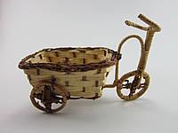 Велосипед из лозы