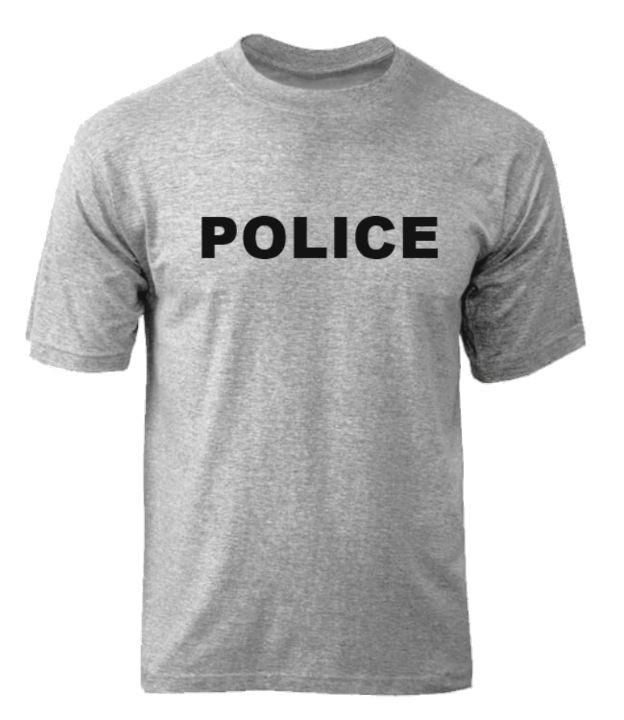 Футболка POLICE - Gray