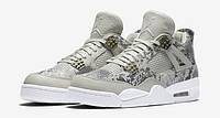 Мужские кроссовки Nike Air Jordan Retro 4 Premium Snakeskin  , фото 1