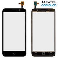 Сенсорный экран (touchscreen) для Alcatel One Touch 5015D Pop 3, черный, оригинал