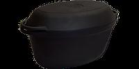 Утятница с крышкой-сковородой (400х260х148, V=9л)