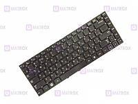 Оригинальная клавиатура для ноутбука Samsung RV411, RV412, RV415, RV420 series, rus, black, без рамки