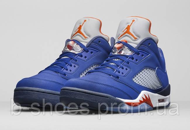 Мужские баскетбольные кроссовки Air Jordan Retro 5 low (Knicks)