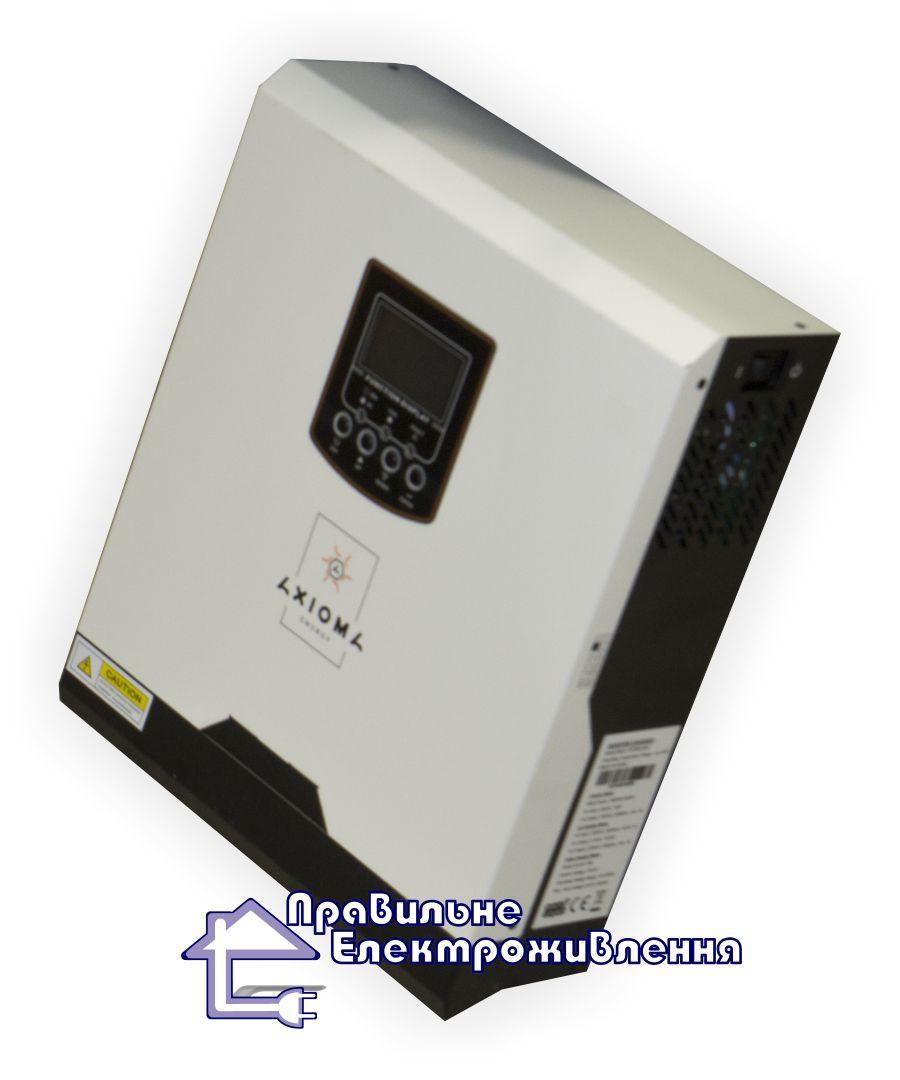 Гібридний інвертор Axioma Energy ISPWM 3000, ШІМ контролер 50А, 24В