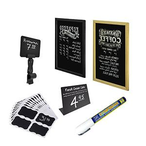 Белым по черному (Меловые ценники, маркеры и доски-меню)
