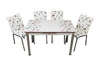 """Комплект стол и стулья для кухни """"Розы"""" (Лотос-М), фото 1"""