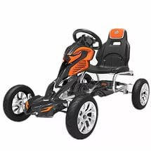 Педальный детский картинг GM504, ЕВА колеса, фото 2