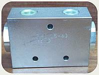 """Делитель потока, 25-40л/мин, резьба 1/2-3/8-3/8""""BSP, стальной корпус"""