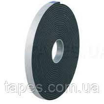 Уплотнительный скотч Scapa 3509, черный цвет, 12мм х 50м х 1,5мм