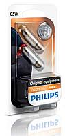 Автолампа Philips Vision C5W - 35mm, 1шт., 12844VI
