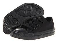 Детские кеды Converse Chuck Taylor All Star (конверс олл стар) низкие черные
