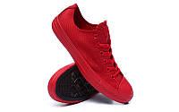 Детские кеды Converse Chuck Taylor All Star (конверс олл стар) низкие красные