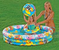 Надувной бассейн Intex с набором 132х28 см (59469)