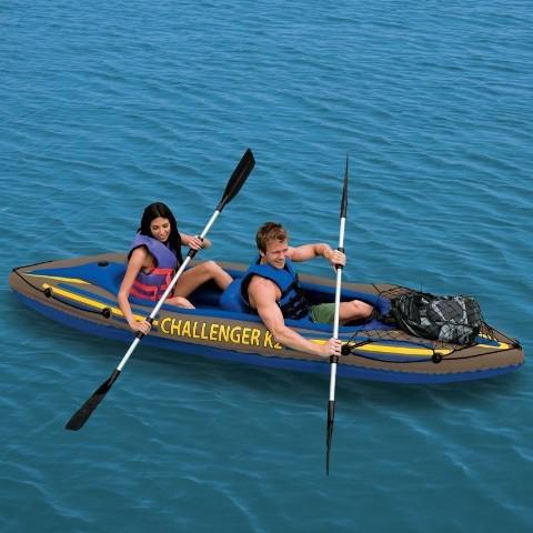Надувная лодка-байдарка Intex 351*76*38см (68306)