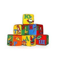 Детские кубики поролоновые с алфавитом (KubikRussAlf)