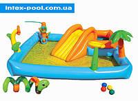 """Детский игровой надувной центр """"Детская площадка"""" Intex 58466"""