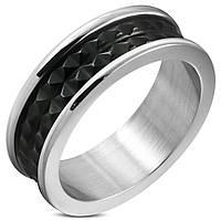 Кольцо из стали с шипами, фото 1