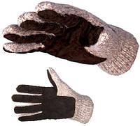 Шерстяные вязаные Перчатки SALMO (7043)