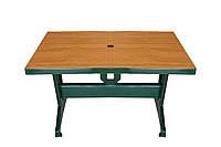Пластиковый стол прямоугольный 70x120 (Лотос-М)