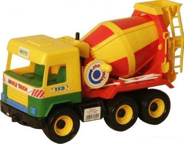 Бетономешалка из серии Middle Truck Wader (32390)