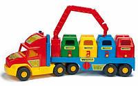 Игрушечная машинка Мусоровоз большой серии Super Truck Wader (36530), фото 1