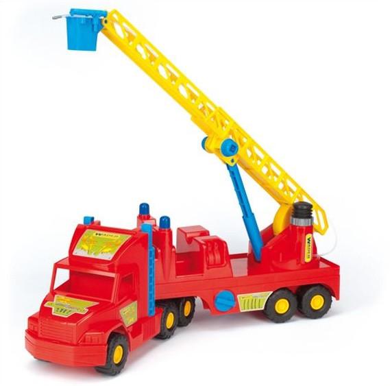 Игрушечная машинка Пожарная машина из серии Super Truck Wader (36570)
