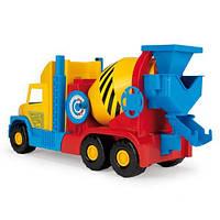 Игрушечная машинка Бетономешалка маленькая серии Super Truck Wader (36590)