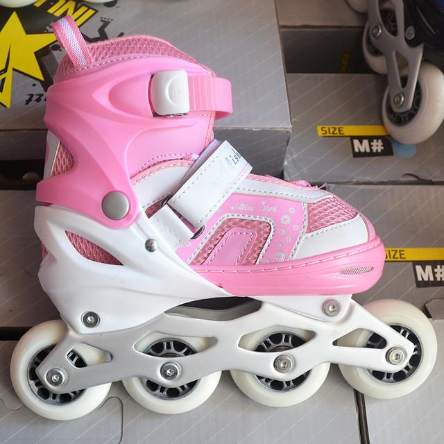 350132d58fb086 Ролики дитячі Aliser Sport (рожеві )