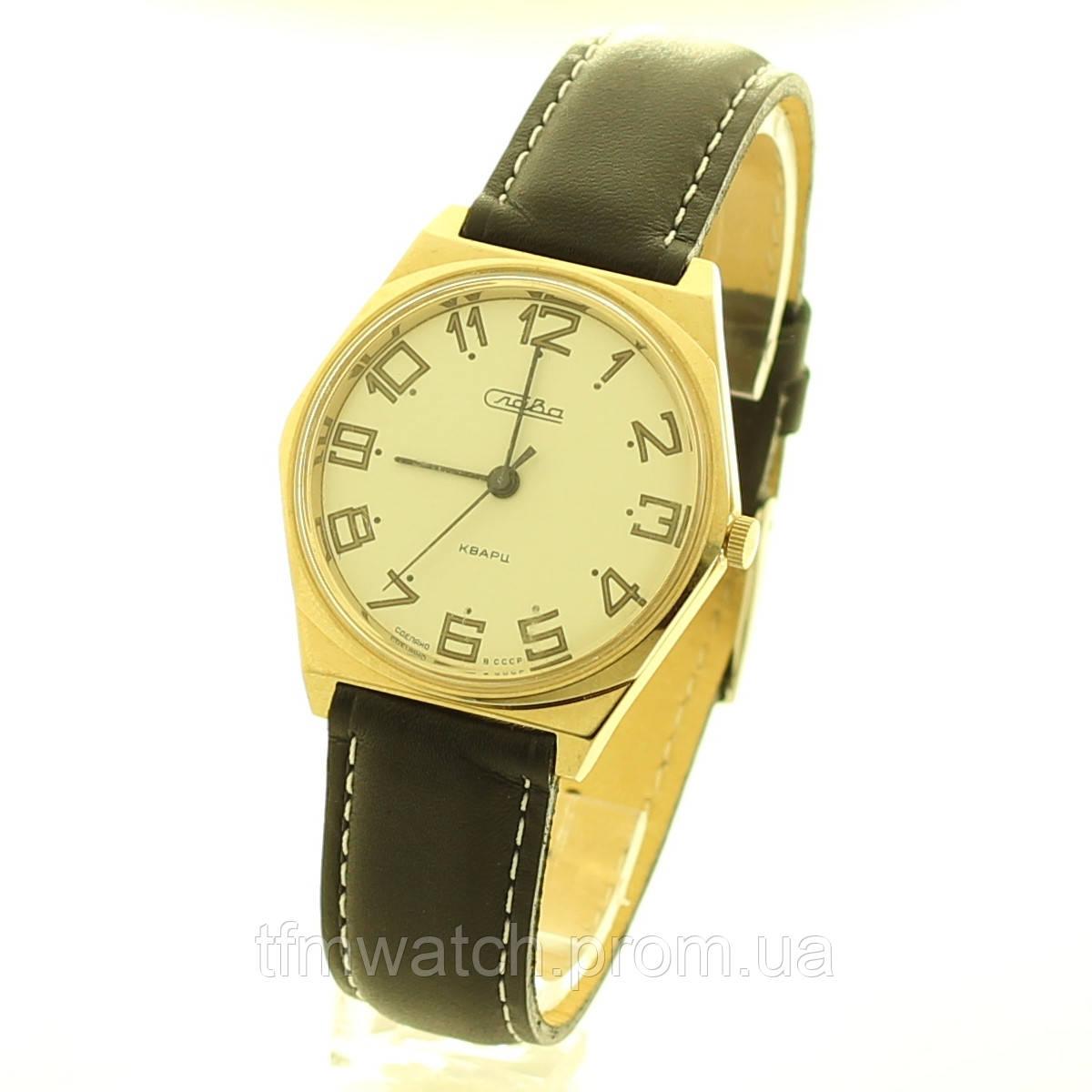 Слава Кварц часы СССР