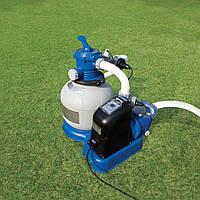Фильтр-насос Intex 56678 с песочным фильтром и хлор-генератором