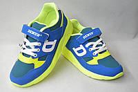 Новинки спортивной обуви. Кроссовки турецкие на мальчиков от фирмы DeMur 636-2 (31-35)