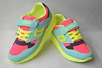 Новинки спортивной обуви. Кроссовки турецкие на девочек от фирмы DeMur 636-6 (31-35)
