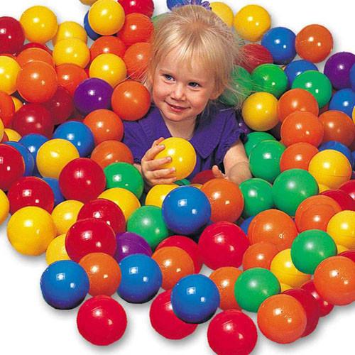 Шарики (мячики) для сухого бассейна Intex, 8 см (100 шт) (49600)